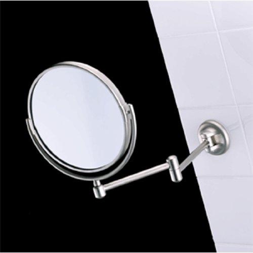 Samuel Heath L115.CP Pivotal Plain/Magnifying (X3) Mirror In Chrome (Samuel Heath Mirror)