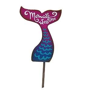 Miniature Fairy Garden Mermaid Sign