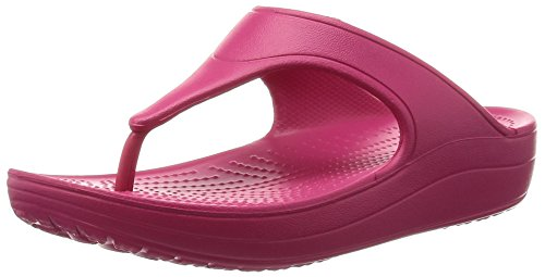 raspberry Crocs Red Woman Sandals Sloane Platform UUqvA7