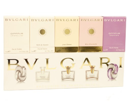 Amazoncom Bvlgari The Miniature Collection By Bvlgari For Women