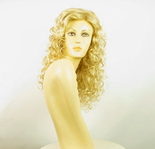WIG UNIVERS Length Wig For Women Curly Blond Golden Wick Very Light Blond Ref: Adelaide 24bt613