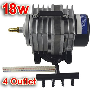 Review 18w Commercial Air Pump 4 Outlet