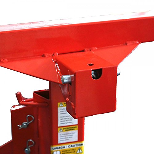 FDW Drywall Panel Hoist Dry Wall Jack Rolling Caster Lifter Construction Tool