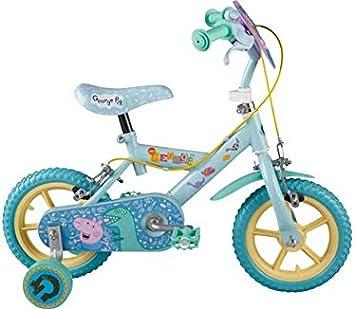 Peppa Pig George 12 Pulgadas Bike - Hombres .: Amazon.es ...