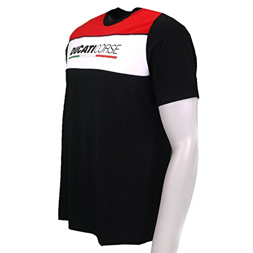 Ducati Corse Moto GP Racing T-shirt Schwarz offizielle 2016