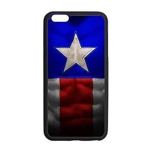 Captain America iphone case, iphone 6 plus cover, iphone 6+ plus case, Cellphone Accessories, Cover for iphone 6 (5.5 inch)