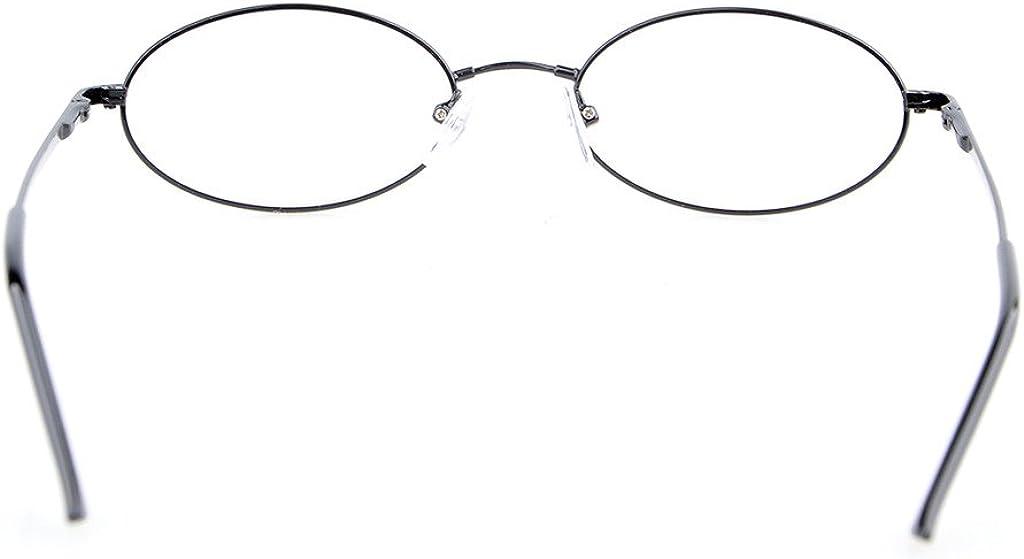 metalique ovale qualite anti-eblouissement Eyekepper Lunettes Ordinateur//Lunette de vue 0.00