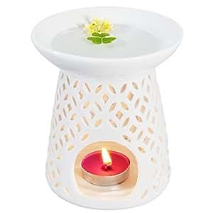 ivenf coin shape ceramic tea light holder wax. Black Bedroom Furniture Sets. Home Design Ideas