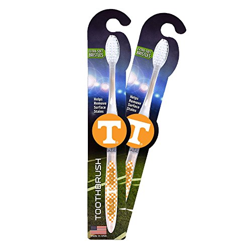 Worthy Promotional NCAA Tennessee Volunteers Toothbrushes, 2-1-packs