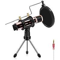 Studio Microphone, ZealSound Condenser Recording &...