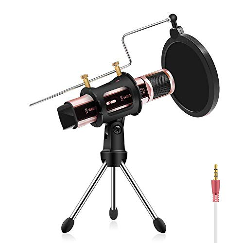Check expert advices for rose gold microphone stand?