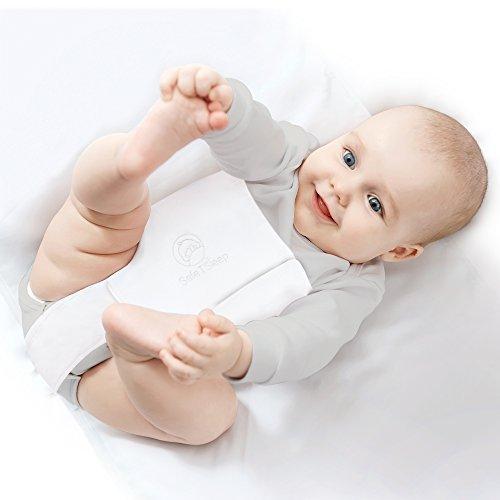 Safe T Sleep Sleepwrap Babywrap for Babies Aged Newborn to 2 Years Plus 130 cm L x 70 cm W x 12-15 cm Swaddle: Cot//Crib Model: Fits Standard and American Size Crib//Cot