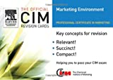 img - for CIM Revision card: Marketing Environment 05/06 (Official CIM Revision Cards) book / textbook / text book