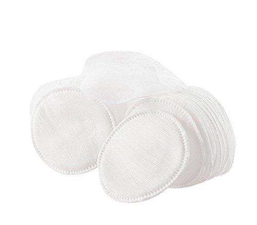 Carton Pad - 60 Pcs Circular Organic Cotton Puff Facial Makeup Cotton Pads Remover Cleansing Cotton- Carton Packaging