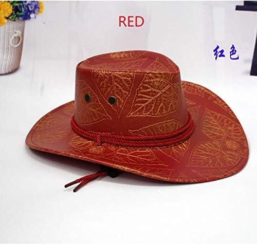 Immature flower Leather Western Cowboy Hats Retail Wholesale Cowboy Hats for Women/&Men chapeu Cowboy