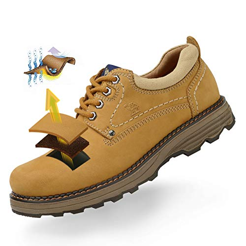 Work Yellow Casual Road CAMEL Lightweight Uniform Cowboy Work Shoes Off CROWN Boots Men's vwqBwY87