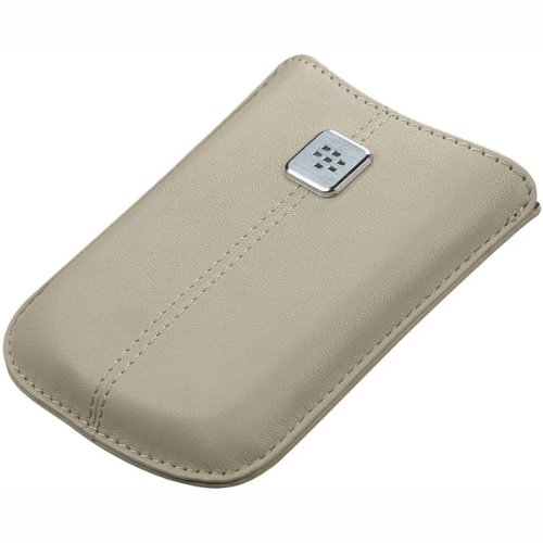 BlackBerry Leather Pocket for BlackBerry 8900 - Sandstone
