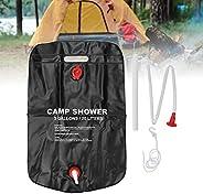 Camp Shower Bag, Solar Heating Camping Shower Bag, Portable Camp Shower Bag, PVC Climbing Summer Shower for Ca