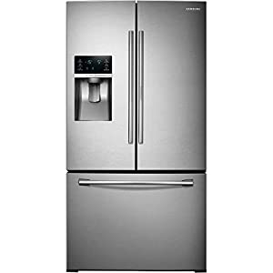 SAMSUNG RF28HDEDBSR French Door Refrigerator, 27.8 Cubic Feet, Stainless Steel