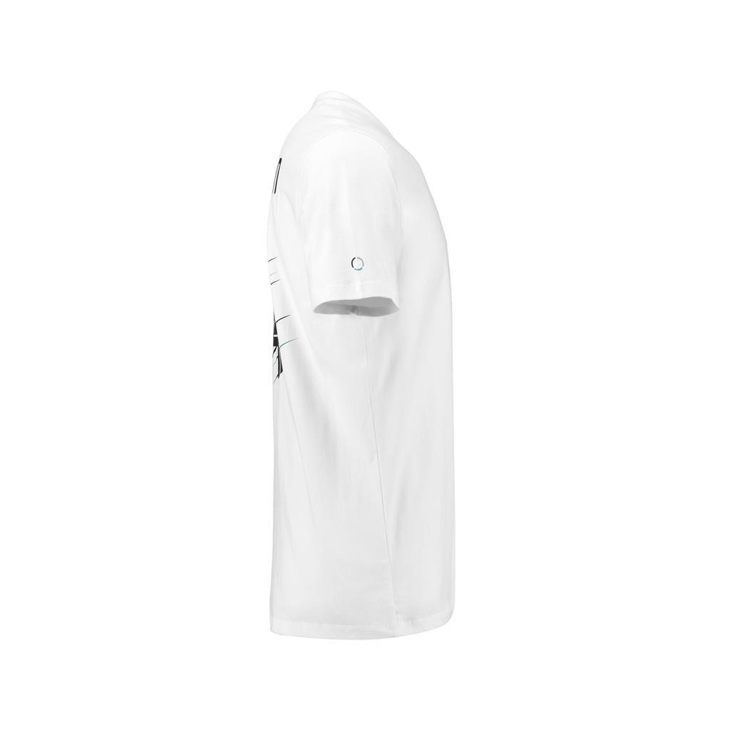 Mercedes Benz AMG Petronas Kids Lewis Hamilton #44 White T-Shirt