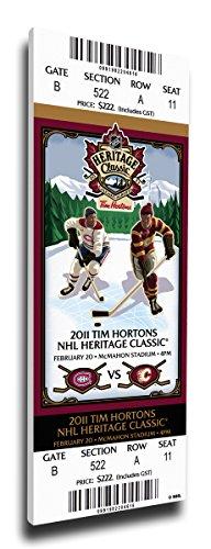 2011 NHL Heritage Classic Mega Ticket - Canadiens vs Flames
