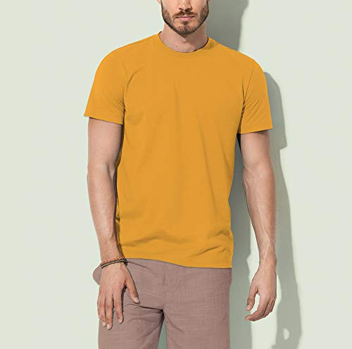 Yang La Dragone Tai Tao Yellow Tigre Dào Curry Cotone Maglietta Yin E shirt Wei Biologico Via Chi Uomo Man T Mivestonaturale Wu fwPqE8ZE
