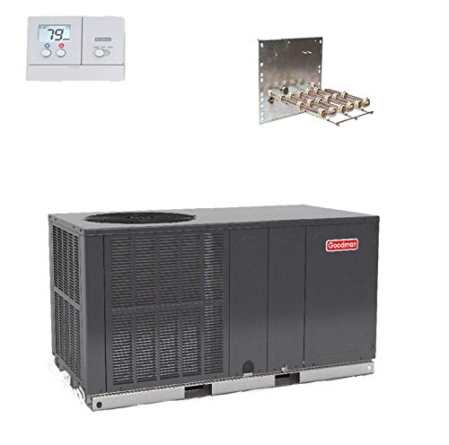 Goodman 4 Ton 14 SEER StraightCool Package Unit GPC1448H41 Free Adapters & TSTAT ()