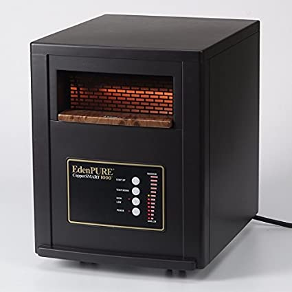 Amazoncom Edenpure A5551 Coppersmart 1000 Heater With Solid Copper