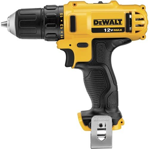 DEWALT DCD710B 12V Max Lithium Drill Driver Baretool, 3/8 inch (Certified Refurbished)
