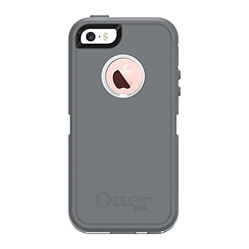 Cheap Electronics Features OtterBox DEFENDER SERIES Case for iPhone 5/5s/SE - Retail Packaging - GLACIER..