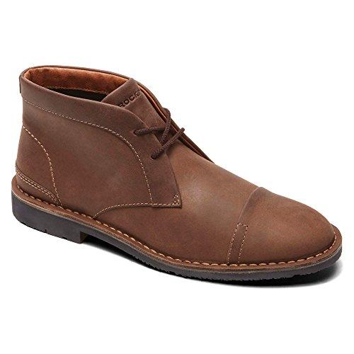 Rockport de hombre botas de tendencia digno ct zapato diario Café Oscuro