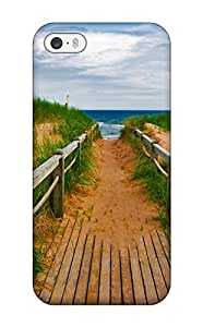 Ultra Slim Fit Hard ZippyDoritEduard Case Cover Specially Made For Iphone 5/5s- Beach