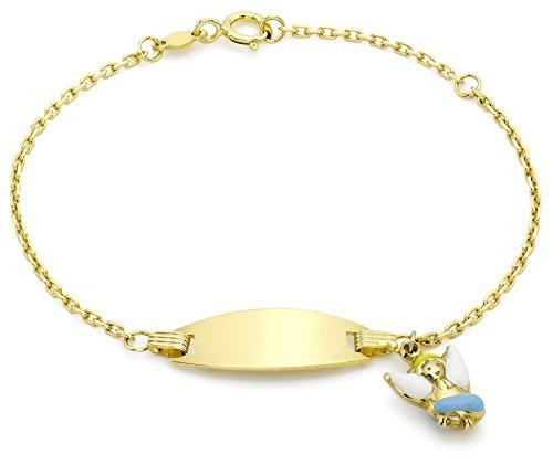 Carissima Gold Pulsera de niña con charm, oro amarillo de 9K, 14 cm Carissima Gold Pulsera de niña con charm, oro amarillo de 9K, 14 cm Carissima Gold Pulsera de niña con charm, oro amarillo de 9K, 14 cm
