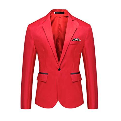 Outwear Coat Suit Tops Premium Classic Fit Suit Stylish Casual Solid Blazer Business Wedding Party Men's -