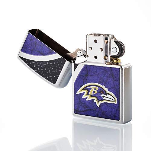 Zippo NFL Baltimore Ravens Refillable Lighter, Blue, One Size