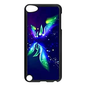 Unique Design Beautiful Colorful Butterfly Image Ipod touch 5th Case Cover-Best Protective Hard Plastic Cover