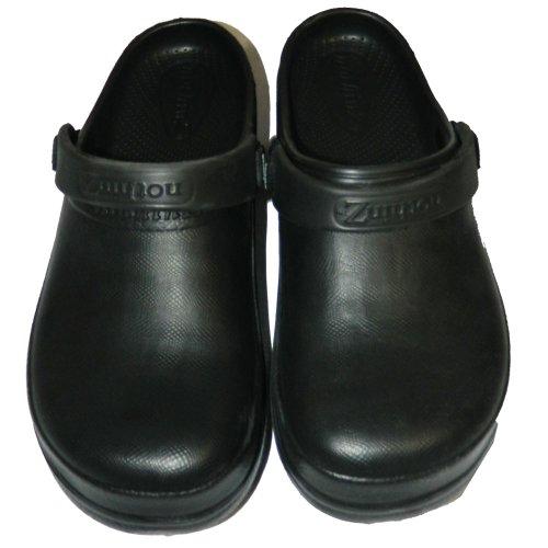 Nothinz Ladies Chiuso Top Clogs, 5 B (m) Us, Nero Chiuso Top