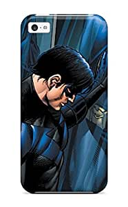 7386986K11092940 Special JeremyRussellVargas Skin Case Cover For Iphone 5c, Popular Nightwing Phone Case
