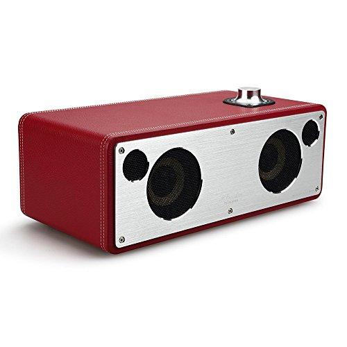 M-Freedom Wi-Fi Lautsprecher, GGMM Multiroom Lautsprecher, WiFi, Apple AirPlay, DLNA für iPhone, Samsung Galaxy S4 S5 -KEIN BLUETOOTH LAUTSPRECHER (Rot)