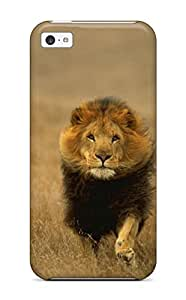 5c Scratch-proof Protection Case Cover For Iphone/ Hot Lion Phone Case