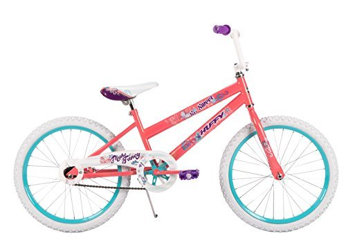Huffy 20-inch So Sweet Pearlized Coral Girls' Bike Ideal for Ages 5-9 and Rider Height 44-56 inches Adjustable Seat with Flowers & Butterflies Easy Assembly Style 23317 [並行輸入品] B077SBPC9W