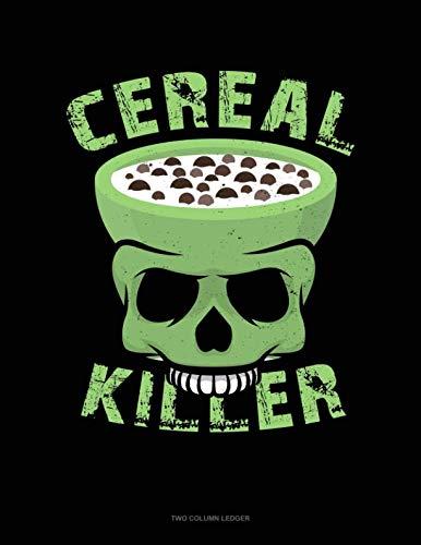 Cereal Killer: Unruled Composition Book