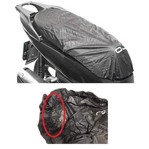 Serviette selle imperméable OJ m092TG.XL Protection selle anti-pluie pour kymco xciting 400i 2012–2017
