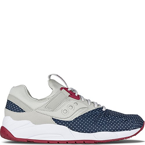 Sneaker Saucony Grid 9000 Navy Taupe / Azul / Ciclamino