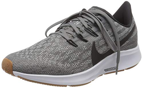 Nike Women's Air Zoom Pegasus 36 Running Shoe Gunsmoke/Oil Grey/White Size 9 M US