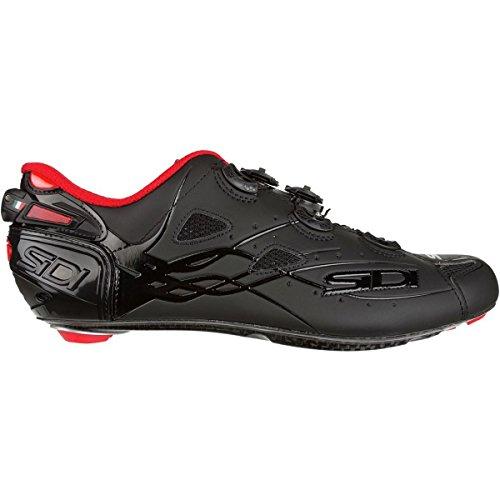 こどもの宮殿恵み難民(シディ) Sidi Shot Vent Carbon Cycling Shoe メンズ ロードバイクシューズBlack/Matte Black [並行輸入品]