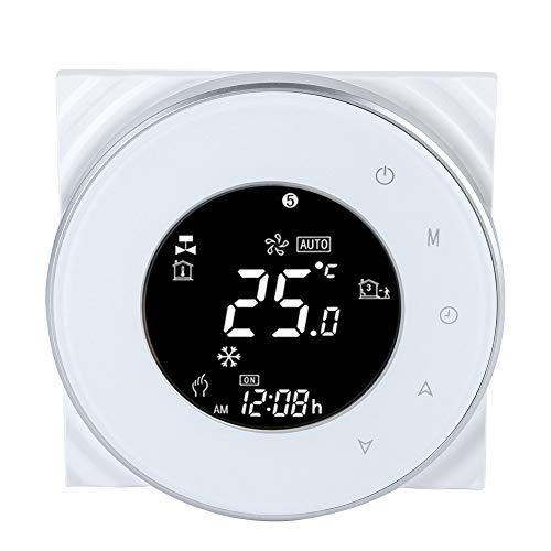 Wifi Thermostat LCD Touch Screen Thermostat Support App Control Underfloor Temperature Controller