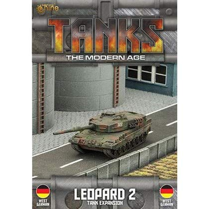 Tanks Miniatures Game - British Gale Force Nine Leopard 2