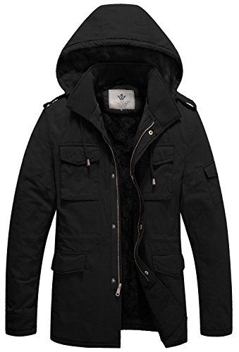 Lined Duck Hooded Jacket - 4