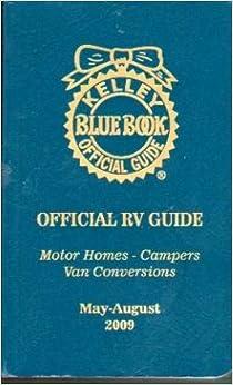 Kelley Blue Book Official Rv Guide Sept Dec 2009 Motor